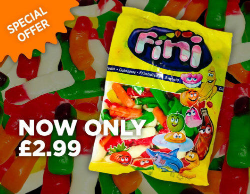 FINI GUMMY FINGERS 1KG BAG